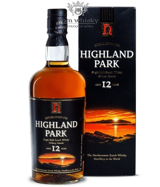 Highland Park 12-letni (Bottled Early 2000s) / 43% / 0,7l