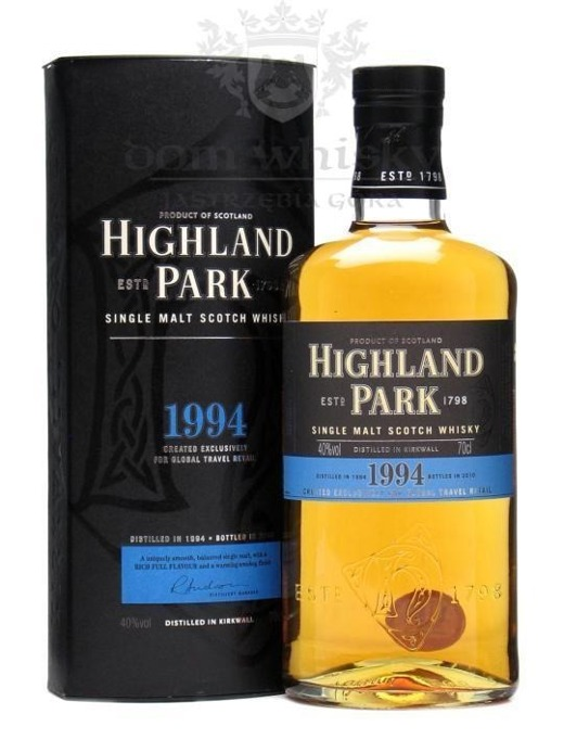 Highland Park 1994 Vintage (Bottled 2010) / 40% / 0,7l