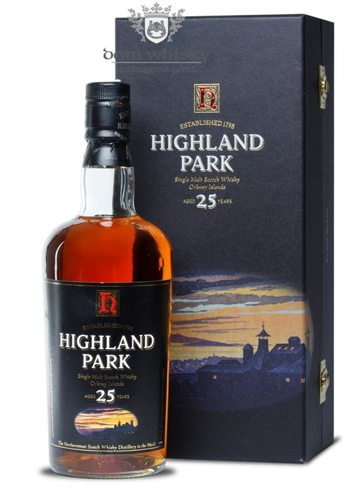 Highland Park 25-letni (Bottled 2004) / 50,7% / 0,7l