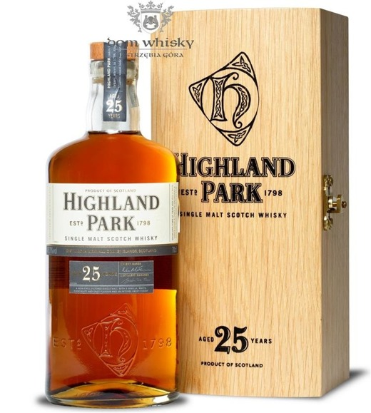 Highland Park 25-letni (Bottled 2012) / 45,7% / 0,7l
