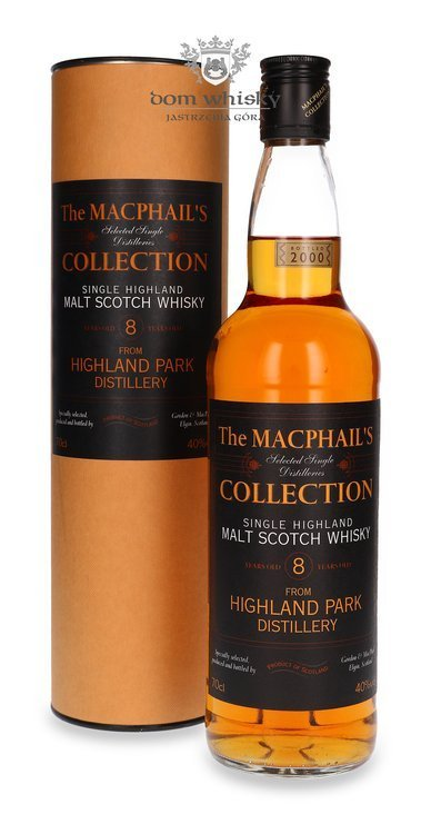 Highland Park 8-letni (B.2000)The MacPhail's Collection G&M / 40%/ 0,7l