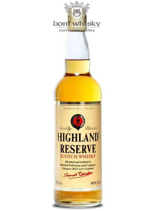 Highland Reserve Blended Scotch Whisky / 40% / 0,7l