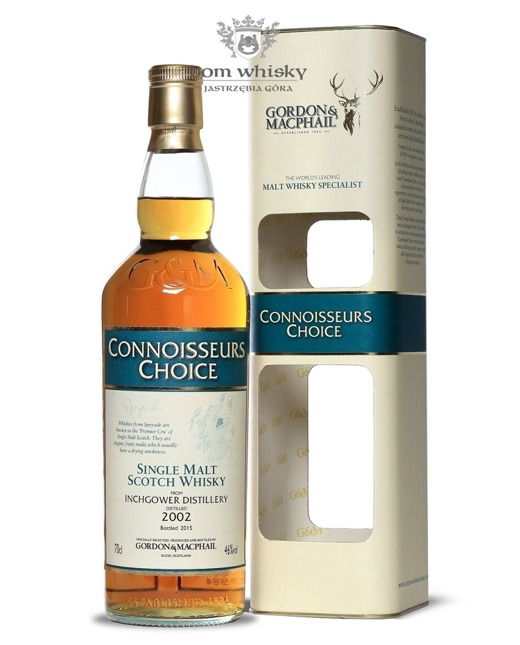Inchgower 2002 (Bottled 2015) Connoisseurs Choice/ 46%/0,7l