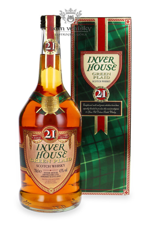 Inver House Green Plaid 21-letni /43%/ 0,7l