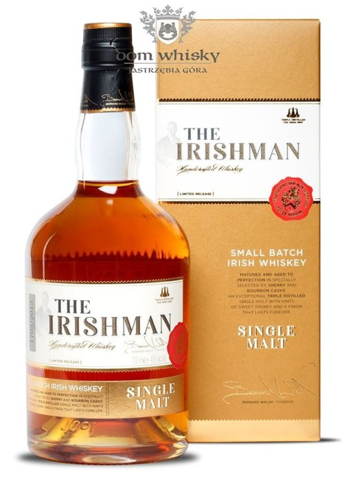 Irishman Single Malt Limited Release / 40% / 0,7l