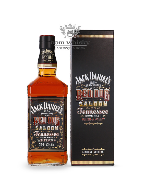 Jack Daniel's 125th Anniversary of the Red Dog Saloon /Box/ 43% / 0,7l