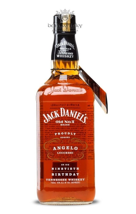 Jack Daniel's Angelo Lucchesi 90th Birthday / 45% / 0,75l