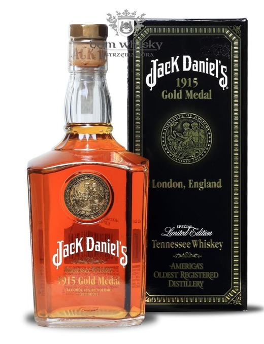 Jack Daniel's Gold Medal 1915, London / 43% / 0,75l
