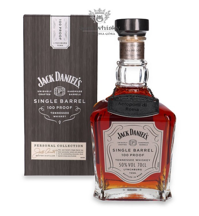 Jack Daniel's Single Barrel 100 Proof Aeroporti Di Roma / 50% / 0,7l