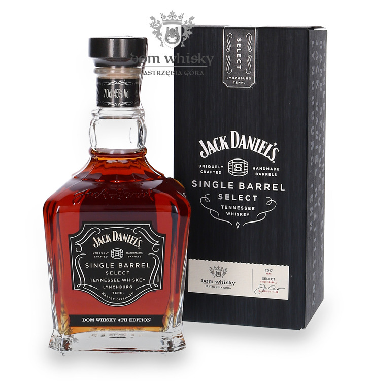 Jack Daniel's Single Barrel Dom Whisky Collection 4th Edition / 45% / 0,7l