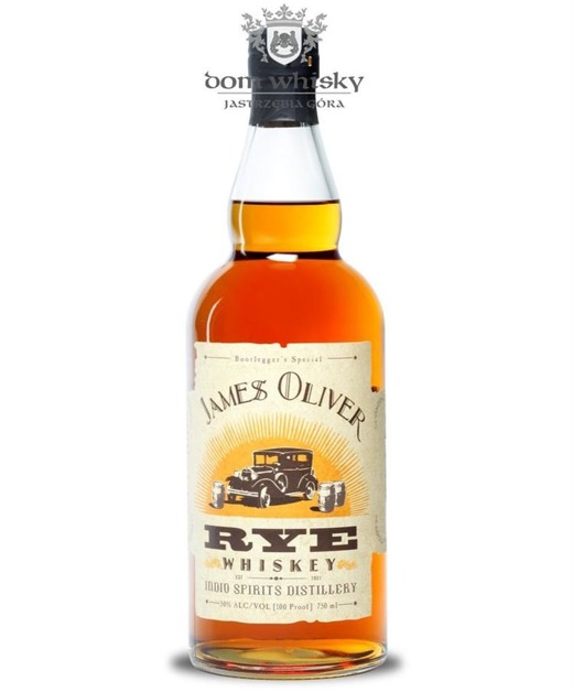 James Oliver Rye Whiskey / 50% / 0,75l