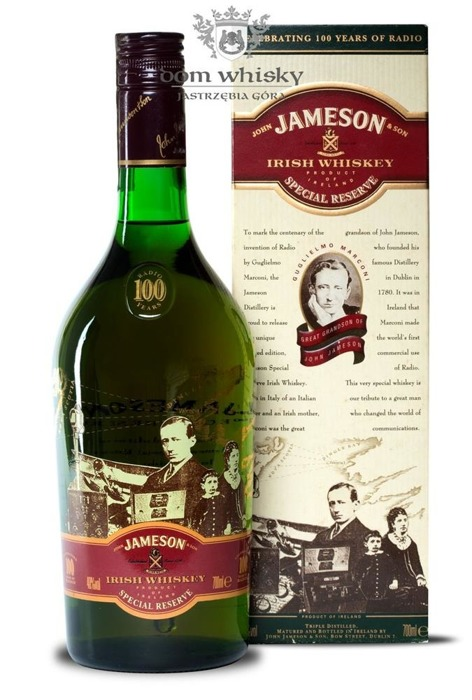"Jameson ""100 Years of Radio Marconi""  / 40% / 0,7l"