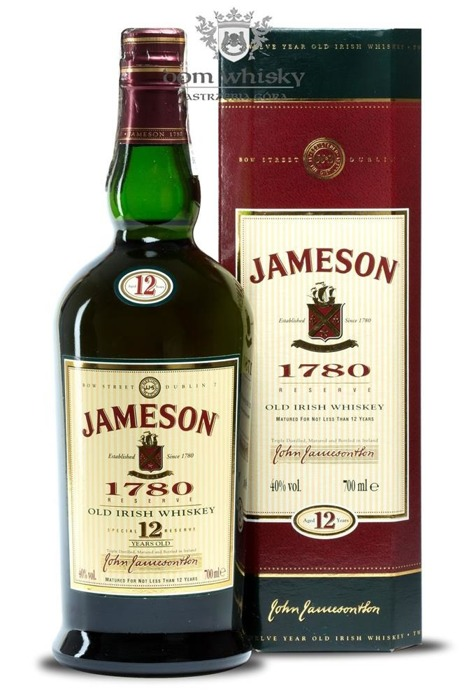Jameson 12 letni Review / 40% / 0,7l