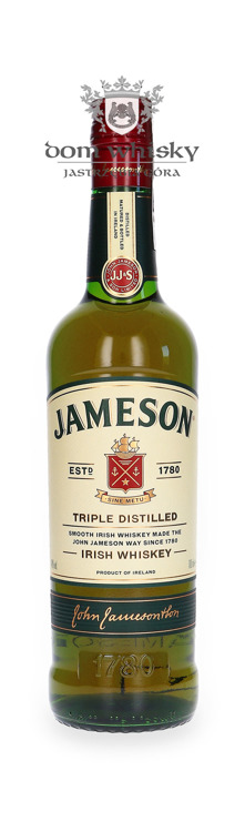 Jameson Irish Whiskey / 40% / 0,7l