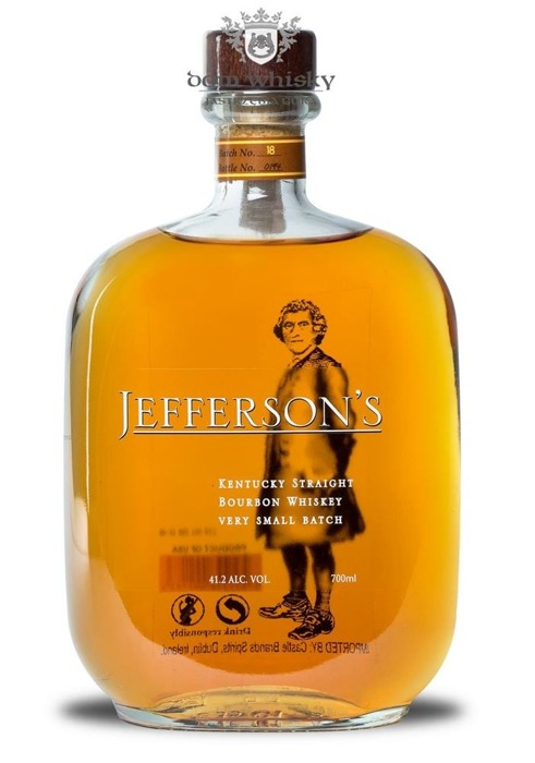 Jeffersons Bourbon / 41,2% / 0,7l