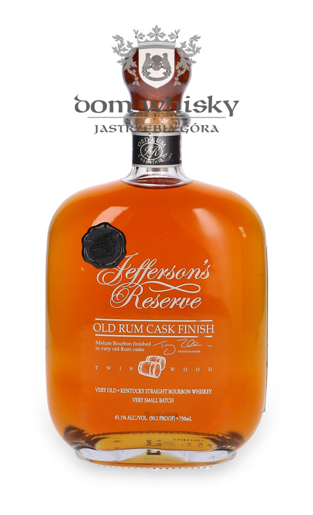 Jefferson's Reserve Old Rum Cask Finish / 45,1% / 0,75l