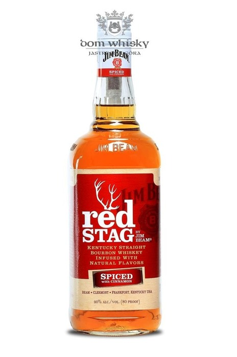 Jim Beam Red Stag Cinnamon / 40% / 0,75l