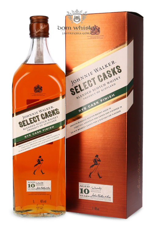 Johnnie Walker 10-letni Select Cask, Rye Cask Finish / 46% /1l