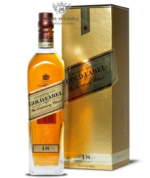 Johnnie Walker 18 letni Gold Label Centenary / 40% / 0,7l