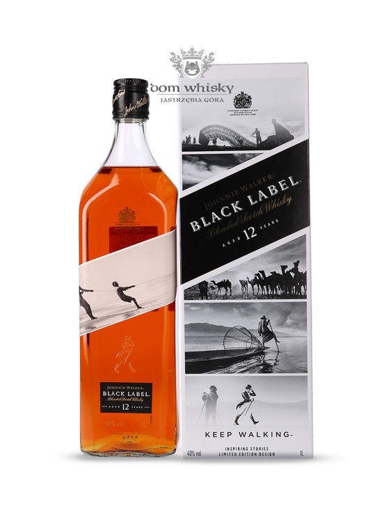 Johnnie Walker Black Label 12-letni Inspiring Stories No. 006 / 40% / 1l