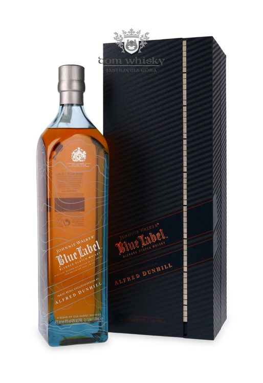 Johnnie Walker Blue Alfred Dunhill Edition / 40%/ 1,0l