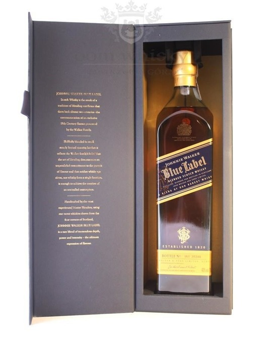 Johnnie Walker Blue Label / 40% / 0,7l