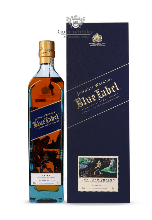 Johnnie Walker Blue Label Carp And Dragon / 46% / 0,75l