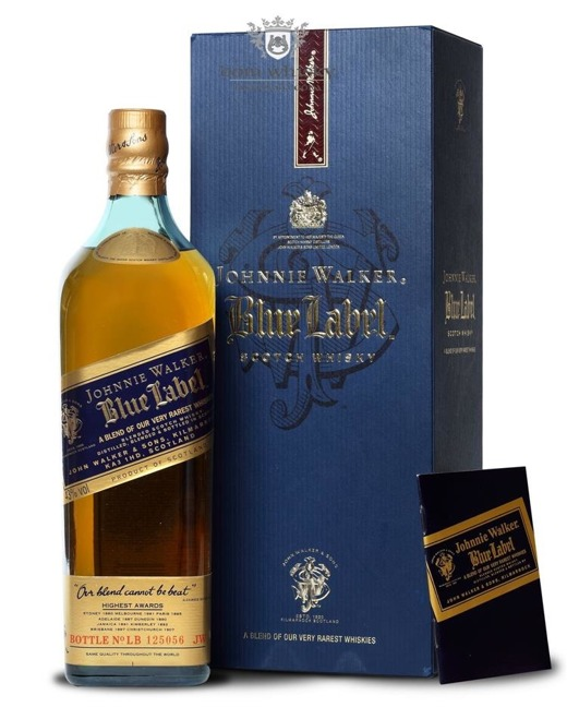 Johnnie Walker Blue Label Review No LB 125056 / 43% / 0,75l