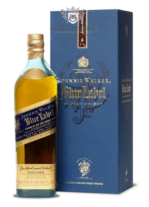 Johnnie Walker Blue Label Review No LD 705771 / 43% / 0,7l