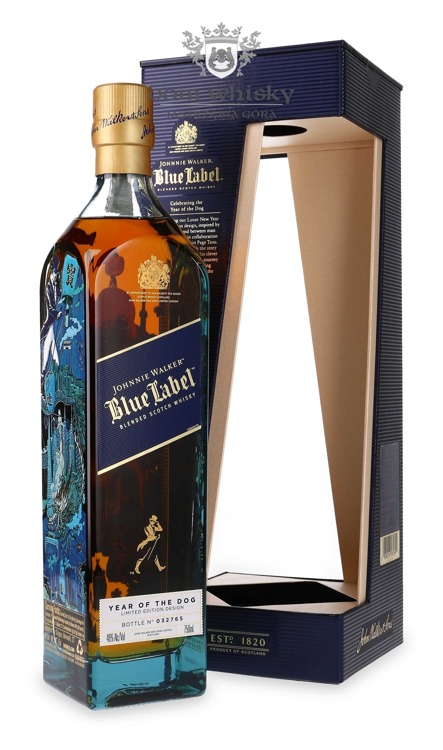 Johnnie Walker Blue Label Year of The Dog / 46% / 0,75l