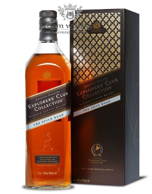 Johnnie Walker Explorer Spice Road / 40% / 1,0l