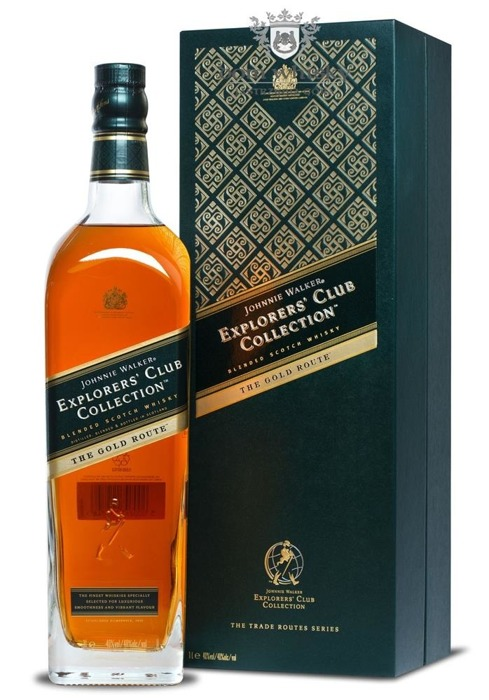 Johnnie Walker Explorers' Club Collection The Gold Route / 40%/ 1,0l