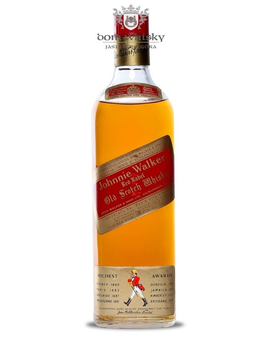 Johnnie Walker Red Label 1970's / 43% / 0,75l