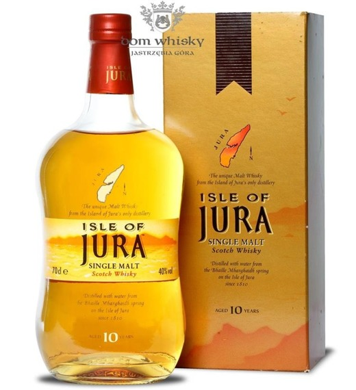 Jura 10-letnia (Yellow Longitudinal Label) /40%/ 0,7l