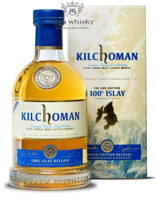 Kilchoman 100% Islay, the 2nd Edition /50%/0,7l