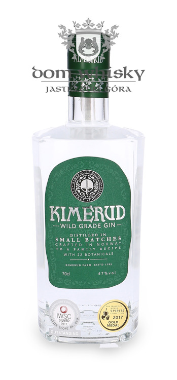 Kimerud Wild Grade Small Batches Gin /Norwegia/ 47% / 0,7l