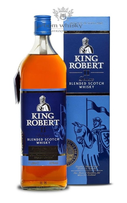 King Robert II Deluxe Blended Whisky / 43% / 1,0l