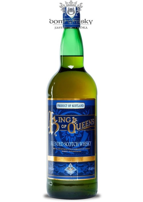 King of Queens Blended Scotch Whisky / 40% / 1,0l