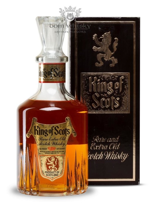 King of Scots Decanter Carafe / 43% / 0,75l