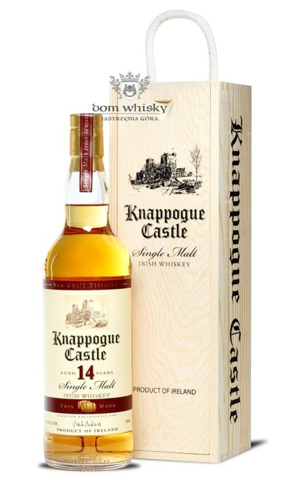 Knappogue Castle 14-letni Tween Wood /Wooden box/ 46% / 0,7l