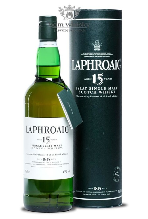 Laphroaig 15-letni (Bottled early 2000s)/ 43% /0,7l