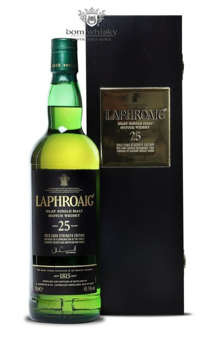 Laphroaig 25-letni (2013 Cask Strength Edition) /45,1%/0,7l