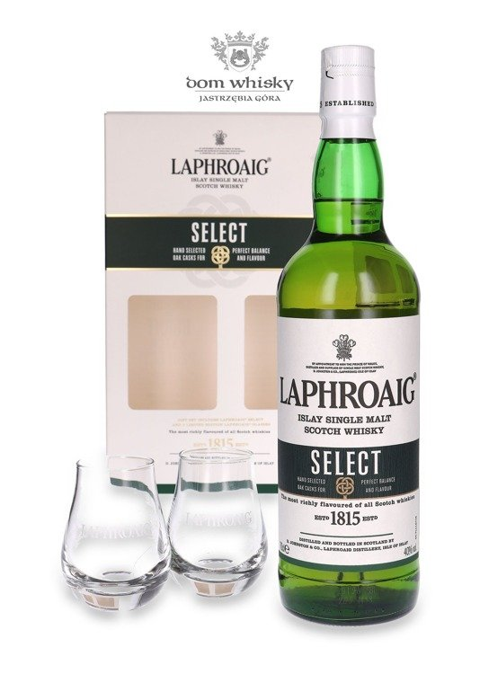 Laphroaig Select ( 2 Nosing Glasses Free ) / 40% / 0,7l