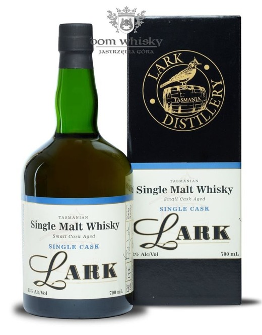 Lark Single Cask (Tasmania) / 43% / 0,7l