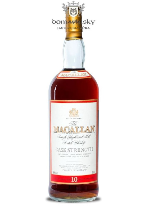 Macallan 10-letni Cask Strength /58,8%/1,0l