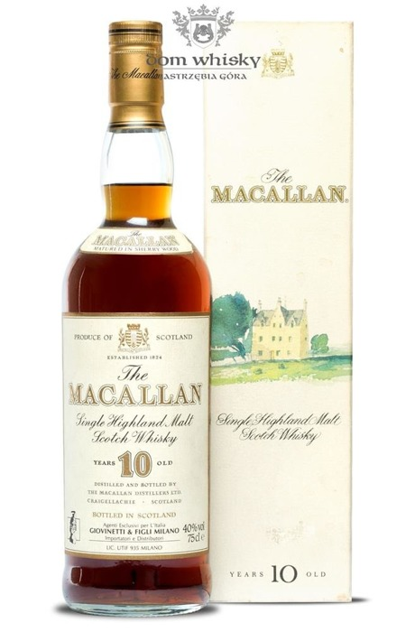 Macallan 10-letni Matured in Sherry Wood (Brak opakowania) /40%/