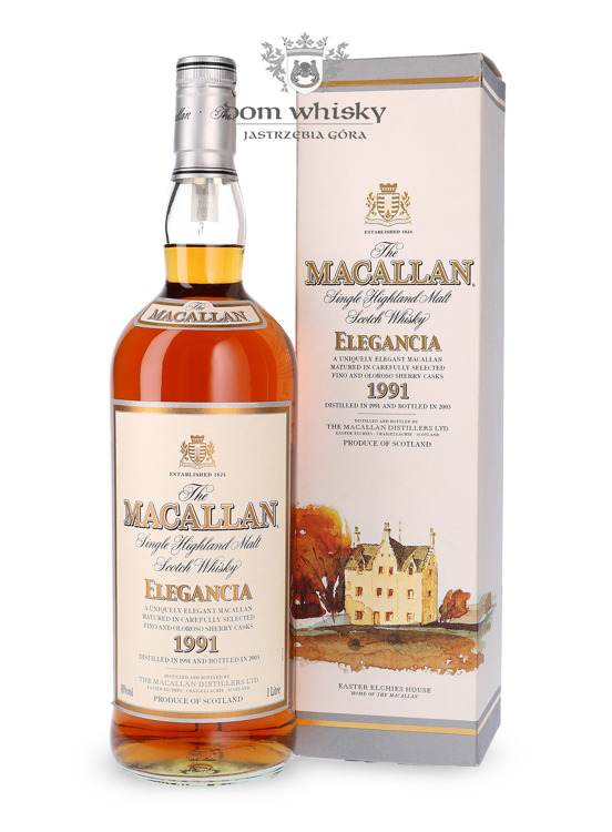 Macallan 1991 Elegancia (Bottled 2003) /40%/1,0l