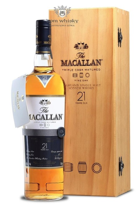 Macallan 21-letni Fine Oak (Triple Cask Matured) /43%/0,75l