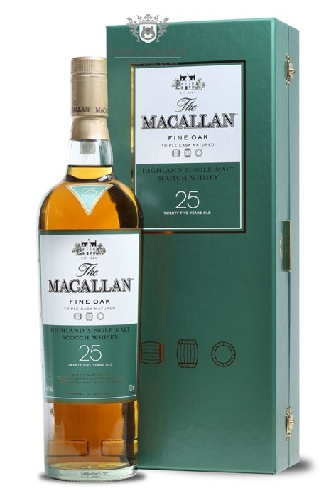 Macallan 25-letni Fine Oak (Triple Cask Matured) /43%/0,7l
