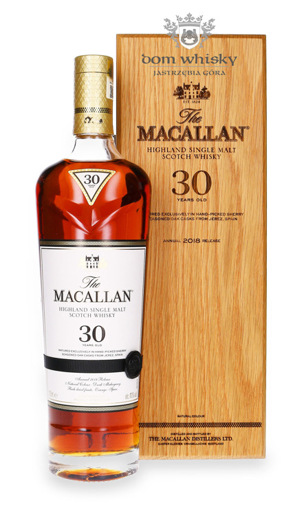 Macallan 30-letni Matured in Sherry 2018 Release /43%/0,7l